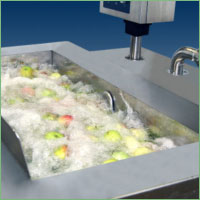 Nilma Barbotage - Bubbling washer for floating fruit and vegetable