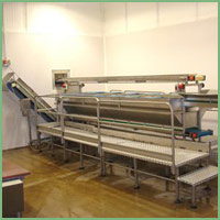 Eillert preparation table - with three levels