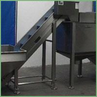 Eillert APM-800A - Abrasive peeling machine