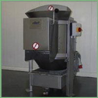 Eillert C25 - Abrasive peeling machine